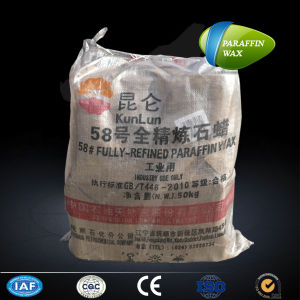 Kunlun Brand Candle-Making Fully Refined 58/60 Paraffin Wax pictures & photos
