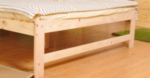 Solid Wooden Bed Modern Double Beds (M-X2238) pictures & photos