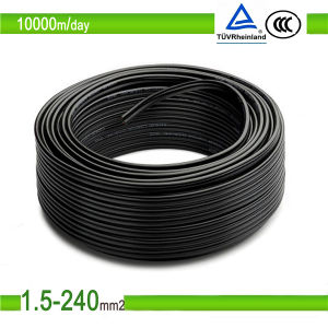 Solar Cable 4sqmm TUV UV Resistent 2pfg 1169 PV1-F 4mm2 PV Cable pictures & photos