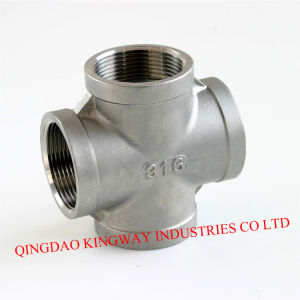 Stainless Steel Threaded Cross, 304/316 pictures & photos