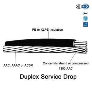 Duplex Triplex Quadruplex PVC/XLPE Overhead Bundled 10kv ABC Cable pictures & photos