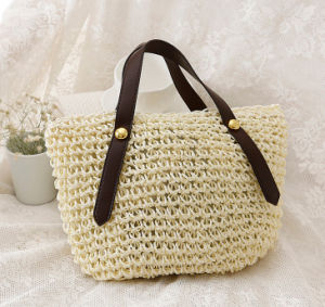 New Arrival Summer Fashion Straw Basket Beach Bag pictures & photos