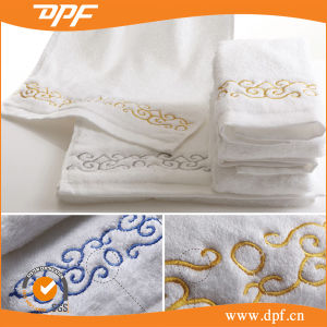 100% Cotton Embroidery Terry Bath Towel (DPF060907) pictures & photos