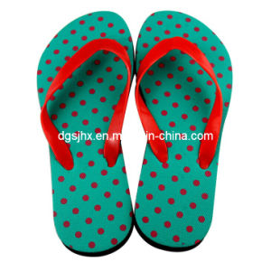 Fashion Beach Flip Flops PE Slippers pictures & photos