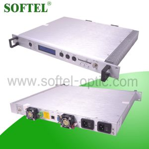 Hfc Network Fiber Optical 1310nm Transmitter with Agc Top Design (2 Power 2 fan) pictures & photos