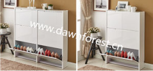 Wooden/MDF/Chipboard Shoe Cabinet/Shoe Ark pictures & photos