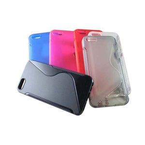 S Shape TPU Case for iPhone 5 pictures & photos