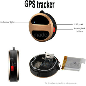 Sos Geo Fence Monitoring GPS Tracking Device for Kids/Elderly pictures & photos