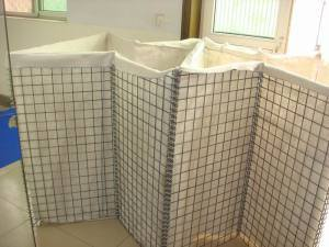 Hesco Barrier, Welded Gabion Box with Geotextile pictures & photos