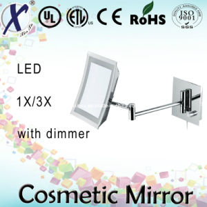 9′′ Single Side Square Shape LED Bathroom Mirror