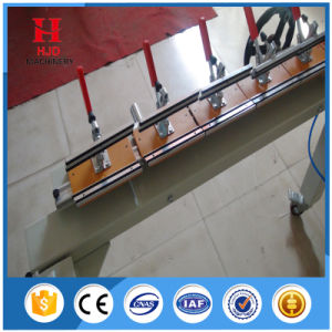 Aluminum Mechanical Pneumatic Screen Stretcher Machine pictures & photos