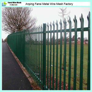 2.75m Width W Pale Steel Palisade Fencing pictures & photos