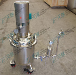 30L Lab R&D Pharmaceutical Stainless Steel Mixing Vessels Tanks