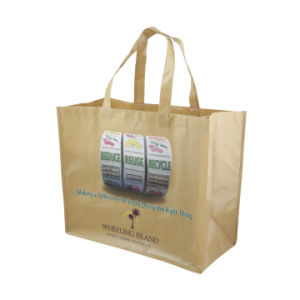 Customized Logo Promotional Reusable Non Woven Bag pictures & photos