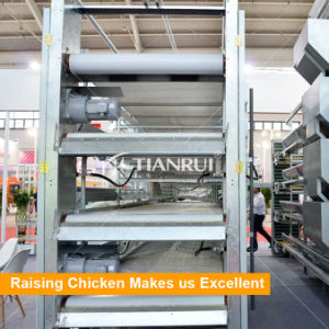Farming Port Battery Cage Poultry Chicken Manure Cleaner pictures & photos