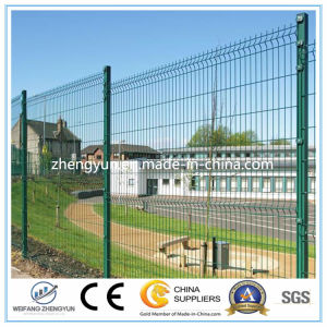 PVC Coated Welded Wire Mesh Panels Fence pictures & photos