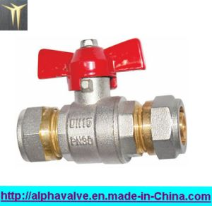 Dzr602 Ball Valve with Butterfly Handle (a. 0123)