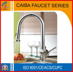 Fashionable Pull out Brass Kitchen Faucet (CB-21201) pictures & photos