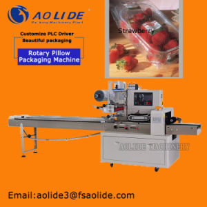 Auto Horizontal China Manufacturer Fruits Strawberry Packing Machine pictures & photos