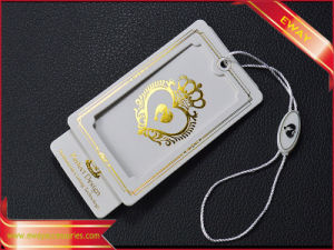 Custom Hang Tag Paper Tag Price Tag for Garment pictures & photos