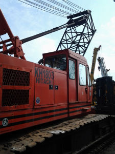 Used Hitachi 50t Crawler Cranw Kh180 pictures & photos