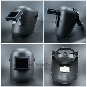 Welding Mask with Wheel Ratchet Suspension Ce En175 Approved (WM402) pictures & photos