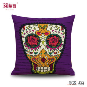 Customized Printed Cushion Cover for Hollween pictures & photos