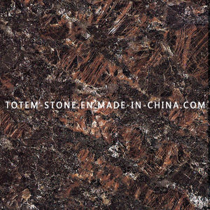 Natural Tan Brown Granite Stone Tile for Countertop, Worktop, Island pictures & photos