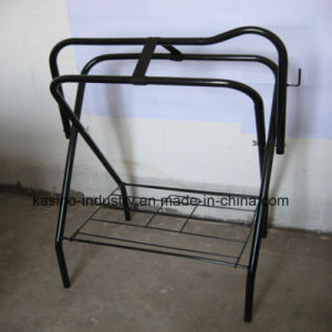 Hot Sales Floor Horse Saddle Stand/Saddle Display Rack pictures & photos