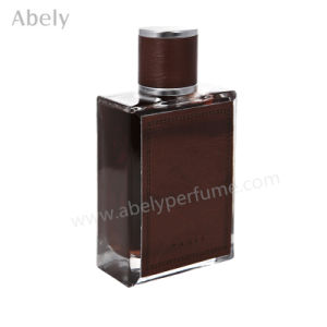 Popular 100ml Perfume Bottles with Leather Cap pictures & photos