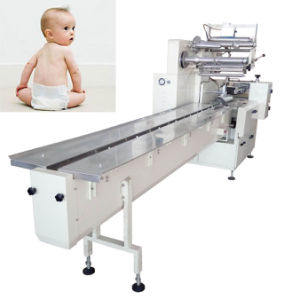 Nappies Sealing Baby Diaper Packaging Machine pictures & photos