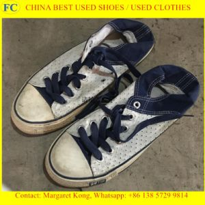 Factory Supply Mixed Brands of High Quality Used Shoes pictures & photos
