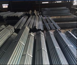 Construction Pre-Galvanized Steel Pipe/Round Steel Tube pictures & photos