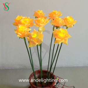 LED Artificial Flower Lights for Christmas pictures & photos