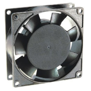 230V 80*80*25mm Aluminium Die-Cast Ec Fans Ec8025 pictures & photos