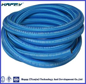 R5 SAE 100 Wire Braid Textile Covered Hydraulic Hose pictures & photos