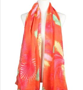 100% Spun Polyester /New Fashion/Printed/Scarf Voile