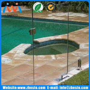 Customized Clear Full Tempered/Toughened Frameless Pool Safety Fencing Glass