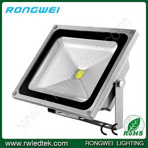 IP65 30W Pure White LED Floodlight for Hotel/Corridor/Passageway