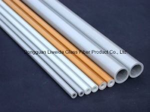 Pultruded High Strength Fiber Glass Pole/Tube, FRP Tube/Pipe pictures & photos