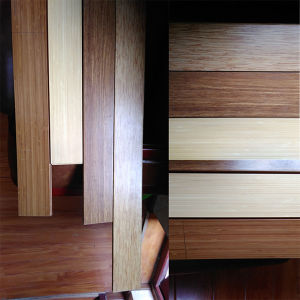 Horizontal Natural Solid Bamboo Flooring pictures & photos