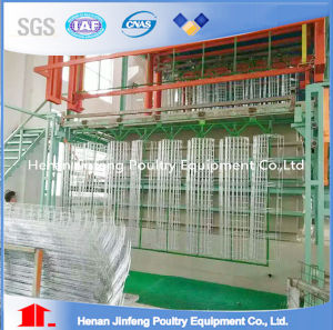H Type Galvanized Steel Chicken Layer Cage pictures & photos