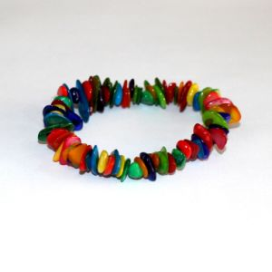 Fashion Crystal Beaded Shell Chips Bracelet pictures & photos