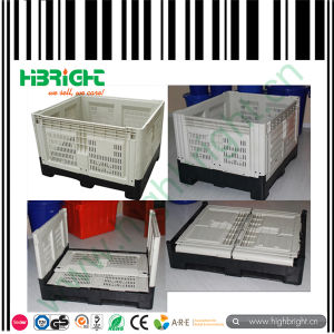 Plastic Logistic Collapsible Bin Plastic Pallet Boxes pictures & photos