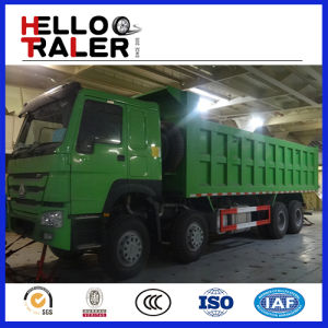 30-50 Ton Sinotruck HOWO 8X4 Front Lifting Dump Truck pictures & photos