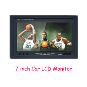 7 Inch Car Monitor, Stand-Alone TFT LCD Color Quad Monitor pictures & photos