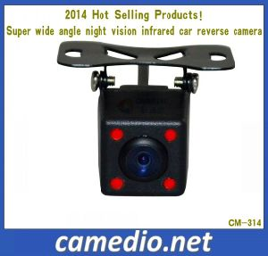 Super Wide Angle IR Night Vision Infrared Car Reverse Camera 2014 Hot Selling Products pictures & photos