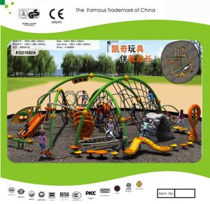 Kaiqi Large Children′s Obstacle Course and Adventure Playground Set for Little Explorers (KQ21082A) pictures & photos