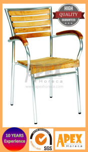 Teak Wood Chair Restaurant Outdoor Furniture Chair (AS1018AWW) pictures & photos