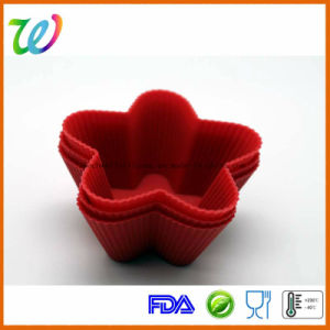 Star Shape Silicone Cupcake Mold pictures & photos